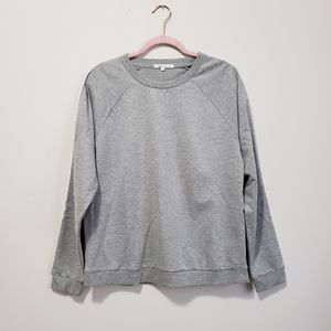 French Connection gray pullover sweatshirt M